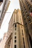 Arquitectura de Manhattan, Nueva York, los E.E.U.U. Foto de archivo libre de regalías