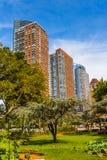 Arquitectura de Manhattan, Nueva York, los E.E.U.U. Imagenes de archivo