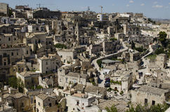 Arquitectura de Matera, Basilicata, Italia imágenes de archivo libres de regalías