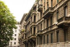 Arquitectura de Milan Italy Fotos de archivo