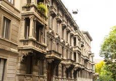 Arquitectura de Milan Italy Imagen de archivo
