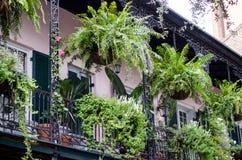 Arquitectura de New Orleans Imágenes de archivo libres de regalías
