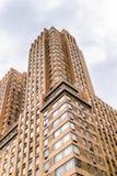 Arquitectura de Nueva York, los E.E.U.U. imagenes de archivo