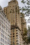Arquitectura de Nueva York, los E.E.U.U. Imágenes de archivo libres de regalías