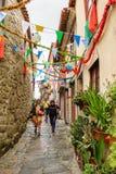 Arquitectura de Oporto, Portugal Imagen de archivo libre de regalías