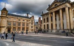 Arquitectura de Oxford imagen de archivo libre de regalías
