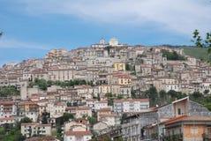 ARQUITECTURA DE PAISAJE DE PADULA, SALERNO, ITALIA Foto de archivo libre de regalías