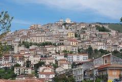 ARQUITECTURA DE PAISAJE DE PADULA, SALERNO, ITALIA Fotografía de archivo libre de regalías