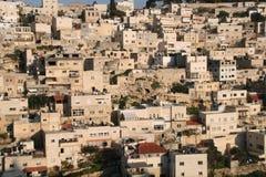 Arquitectura de piedra en Jerusalén, Israel Fotografía de archivo libre de regalías