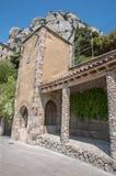 Arquitectura de piedras y madera Royaltyfria Bilder