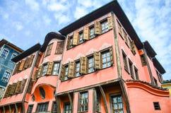 Arquitectura de Plovdiv Fotos de archivo libres de regalías