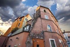 Arquitectura de Roma Imagen de archivo libre de regalías