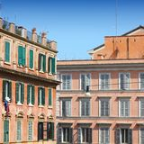 Arquitectura de Roma Imagen de archivo