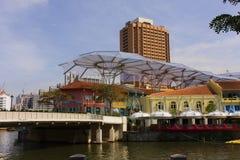 Arquitectura de Singapur fotos de archivo libres de regalías