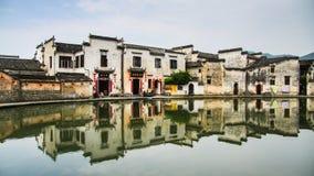Arquitectura de Triditional de China en la provincia de Anhui Fotos de archivo libres de regalías
