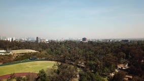 Arquitectura de UNAM, campos de fútbol para la práctica del equipo de la universidad