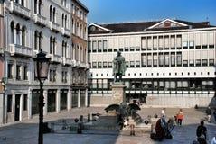 Arquitectura de Venicean y monumento de Minin Fotografía de archivo libre de regalías