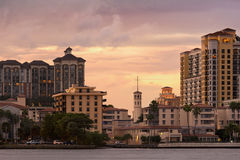 Arquitectura de West Palm Beach fotos de archivo