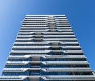 Arquitectura de Zuidas Amsterdam en Países Bajos Foto de archivo