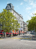 Arquitectura de Zurich imagenes de archivo