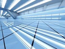 Arquitectura del aeropuerto Imagen de archivo libre de regalías