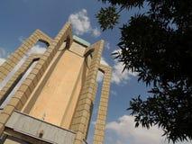 Arquitectura del arácnido del mausoleo del poeta fotografía de archivo libre de regalías