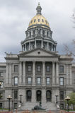 Arquitectura del capitolio del estado de Colorado fotos de archivo libres de regalías