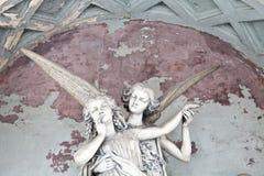 Arquitectura del cementerio - Europa imagen de archivo libre de regalías
