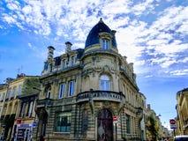 Arquitectura del cielo de Francia imagen de archivo