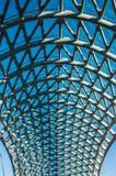 Arquitectura del diseño de la construcción caonstruction del hierro fotos de archivo
