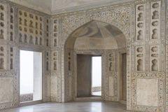Arquitectura del fuerte de Agra Imágenes de archivo libres de regalías
