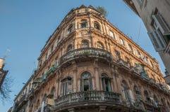 Arquitectura del hotel de Cuba que construye 2013 Imagen de archivo libre de regalías