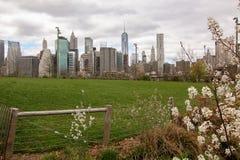Arquitectura del Lower Manhattan Fotos de archivo libres de regalías