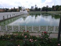 Arquitectura del Nepali Imagen de archivo libre de regalías