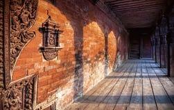 Arquitectura del Nepali en Bhaktapur imagen de archivo