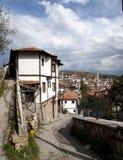 Arquitectura del otomano/hogares de Beypazari Imágenes de archivo libres de regalías