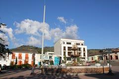 Arquitectura del parque de Abejorral, Antioquia, Colombia imagen de archivo