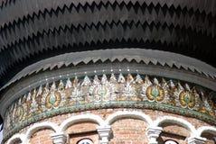 Arquitectura del señorío de Izmailovo en Moscú Catedral de la intercesión Fotografía de archivo
