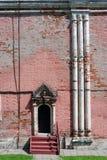 Arquitectura del señorío de Izmailovo en Moscú Torre del puente Imagen de archivo libre de regalías