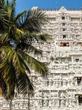 Arquitectura del templo de Annamalaiyar en Tiruvannamalai, la India Foto de archivo
