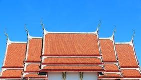 Arquitectura del templo tailandés foto de archivo
