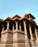 Arquitectura del templo viejo Fotos de archivo