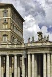 Arquitectura del Vaticano imagenes de archivo