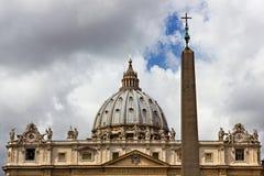 Arquitectura del Vaticano imagen de archivo