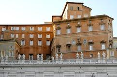 Arquitectura del Vaticano Fotografía de archivo libre de regalías