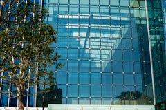 Arquitectura delantera de cristal del edificio Fotografía de archivo