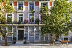 Arquitectura en Atenas Foto de archivo