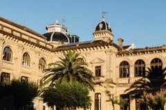 Arquitectura en el país vasco, España fotografía de archivo