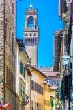 Arquitectura en Florencia vieja, Italia Imágenes de archivo libres de regalías