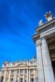Arquitectura en la Ciudad del Vaticano, Roma Fotografía de archivo libre de regalías
